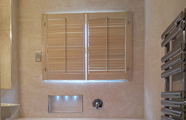 Bathroom Blind Shutters