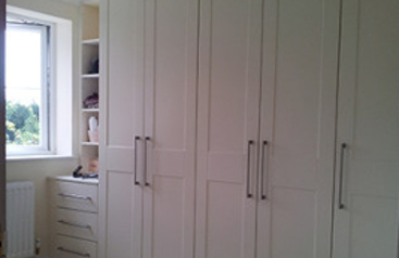 King White Wardrobes