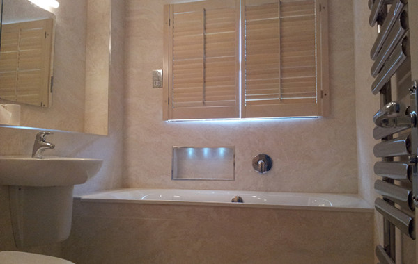 Cream Bathroom Shutters 2