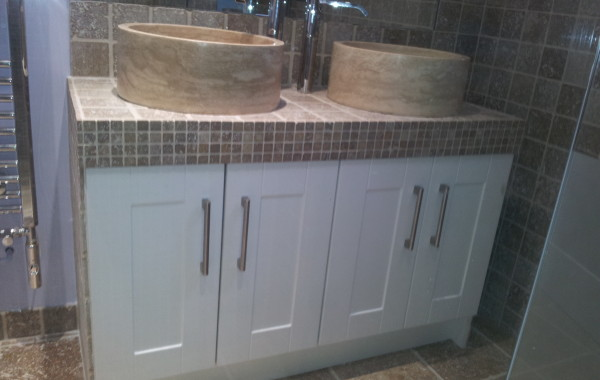 Designed and Created Modern Bathroom