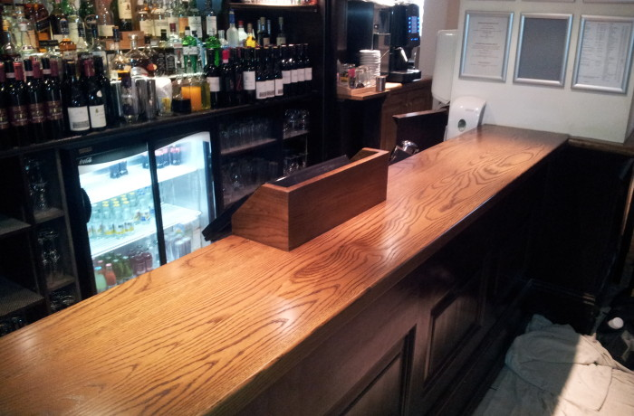 Bar Counter in Oak